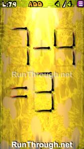 Matches Puzzle Walkthrough Episode 3 Level 79