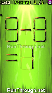 Matches Puzzle Walkthrough Episode 3 Level 63