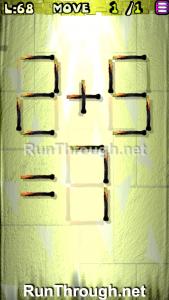 Matches Puzzle Walkthrough Episode 3 Level 68