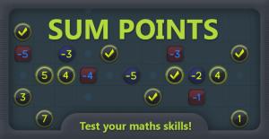 Sum Points Icon