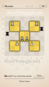 Chess Light Walkthrough Master Level 12