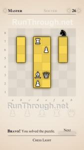 Chess Light Walkthrough Master Level 26