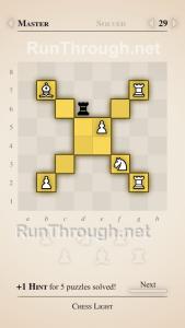 Chess Light Walkthrough Master Level 29