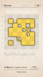 Chess Light Walkthrough Master Level 34