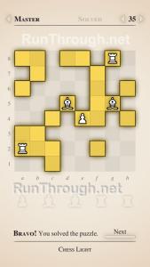 Chess Light Walkthrough Master Level 35