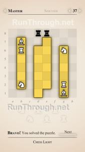 Chess Light Walkthrough Master Level 37