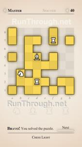 Chess Light Walkthrough Master Level 40