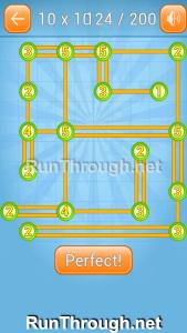 Linky Dots 10x10 Walkthrough level 124