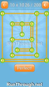 Linky Dots 10x10 Walkthrough level 126