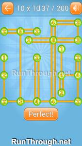 Linky Dots 10x10 Walkthrough level 137