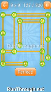 Linky Dots 9x9 Walkthrough Level 127