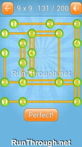 Linky Dots 9x9 Walkthrough Level 131