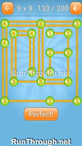 Linky Dots 9x9 Walkthrough Level 133