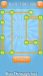 Linky Dots 9x9 Walkthrough Level 134