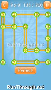 Linky Dots 9x9 Walkthrough Level 135