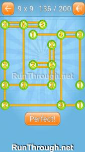 Linky Dots 9x9 Walkthrough Level 136