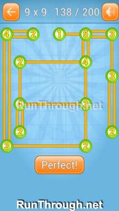 Linky Dots 9x9 Walkthrough Level 138