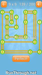 Linky Dots 9x9 Walkthrough Level 139