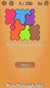 Ocus Puzzle Walkthrough Easy Level 5