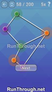Color Net Walkthrough Beginner Level 58