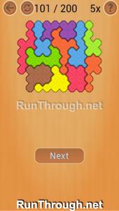 Ocus Puzzle Walkthrough Hard Level 101