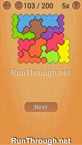 Ocus Puzzle Walkthrough Hard Level 103