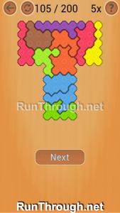 Ocus Puzzle Walkthrough Hard Level 105
