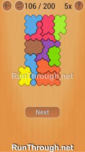 Ocus Puzzle Walkthrough Hard Level 106