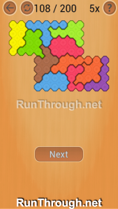 Ocus Puzzle Walkthrough Hard Level 108