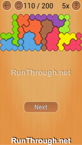 Ocus Puzzle Walkthrough Hard Level 110