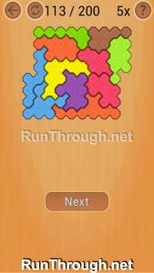 Ocus Puzzle Walkthrough Hard Level 113