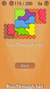 Ocus Puzzle Walkthrough Hard Level 115