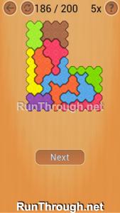 Ocus Puzzle Walkthrough Hard Level 186