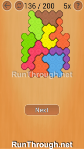 Ocus Puzzle Walkthrough Medium Level 136
