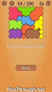 Ocus Puzzle Walkthrough Medium Level 54