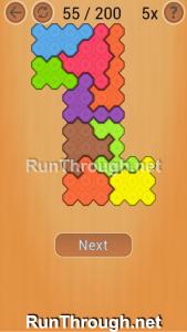 Ocus Puzzle Walkthrough Medium Level 55