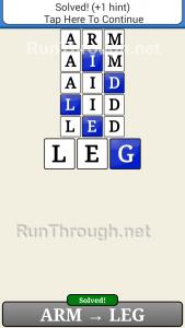 Word Ladder Walkthrough The Body 2