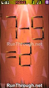 Matches Puzzle Walkthrough Episode 12 Level 81