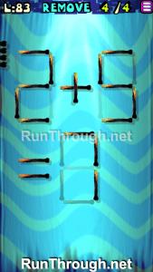 Matches Puzzle Walkthrough Episode 12 Level 83
