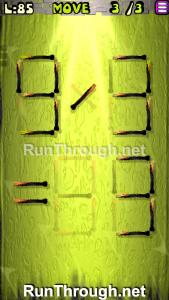 Matches Puzzle Walkthrough Episode 12 Level 85