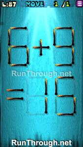 Matches Puzzle Walkthrough Episode 12 Level 87