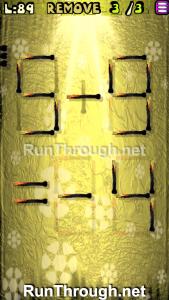 Matches Puzzle Walkthrough Episode 12 Level 89