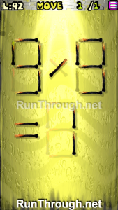 Matches Puzzle Walkthrough Episode 12 Level 92