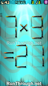 Matches Puzzle Walkthrough Episode 12 Level 93