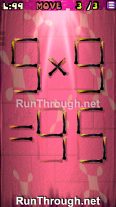 Matches Puzzle Walkthrough Episode 12 Level 99