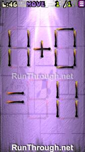Matches Puzzle Walkthrough Episode 13 Level 46