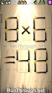Matches Puzzle Walkthrough Episode 13 Level 49