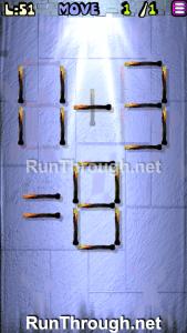 Matches Puzzle Walkthrough Episode 13 Level 51