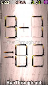 Matches Puzzle Walkthrough Episode 13 Level 52