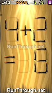 Matches Puzzle Walkthrough Episode 13 Level 63